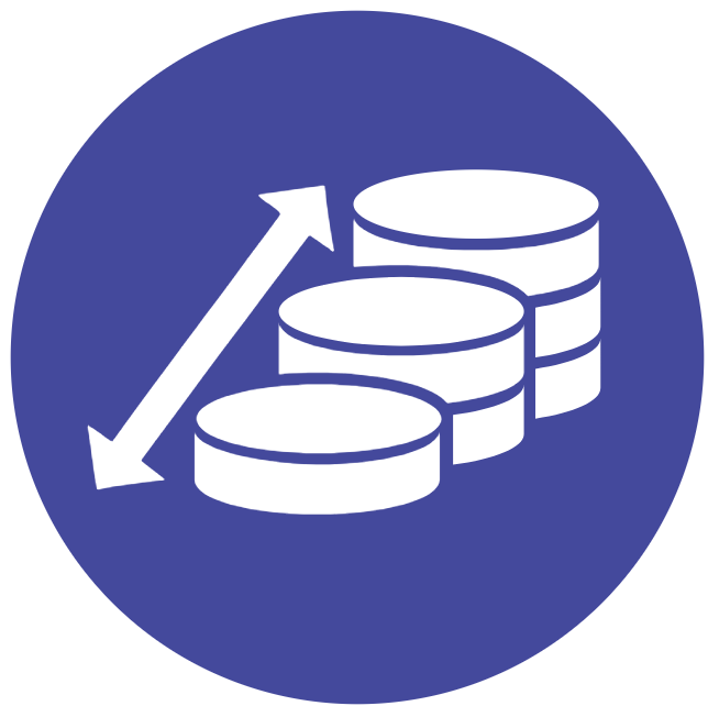 Scalable Financial Applications Icon