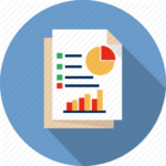 Real-time Financial Reporting Icon